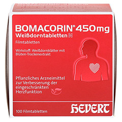 Bomacorin 450mg Wei�dorntabletten N 200 St�ck - Vorderseite