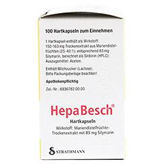 HepaBesch Hartkapseln 100 Stück N3 - Linke Seite
