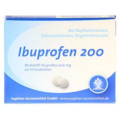 Ibuprofen 200 20 Stück - Vorderseite