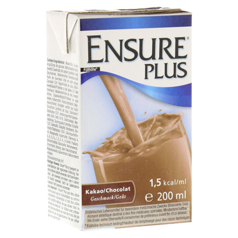 ENSURE Plus Drink Kakao Tetra 200 Milliliter