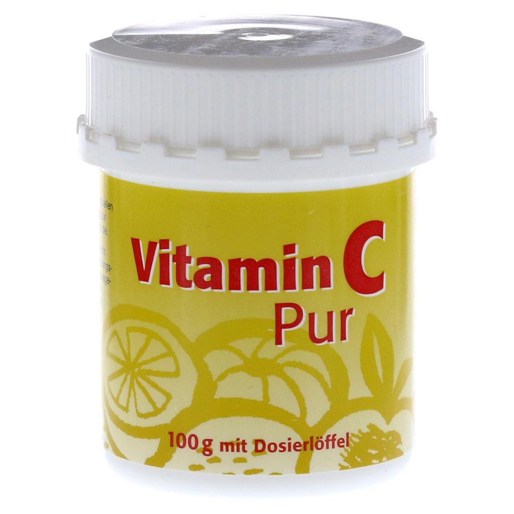 vitamin c pur pulver 100 gramm. Black Bedroom Furniture Sets. Home Design Ideas