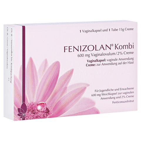 FENIZOLAN Kombi 600 mg Vaginalovulum+2% Creme 1 Packung