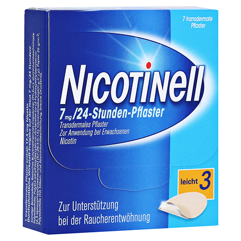 Nicotinell 17,5mg/24Stunden 7 St�ck