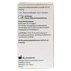 LACRIMAL O.K. N Augentropfen 60x0.6 Milliliter - Rechte Seite