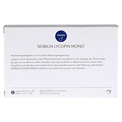 NOBILIN Lycopin Mono Kapseln 60 St�ck - R�ckseite