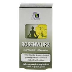 ROSENWURZ Kapseln 200 mg 60 St�ck - R�ckseite