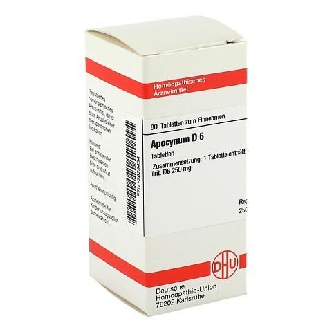 APOCYNUM D 6 Tabletten 80 St�ck N1