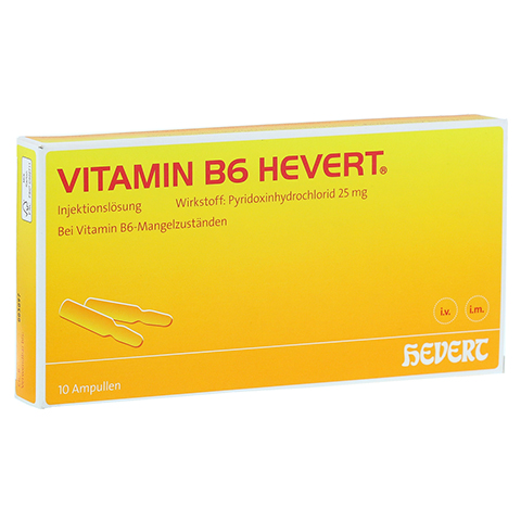 VITAMIN B6 Hevert Ampullen 10x2 Milliliter N2