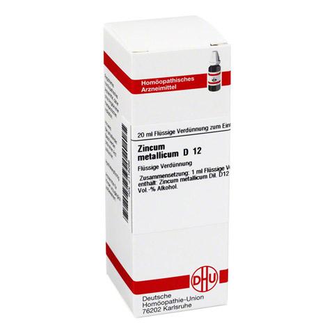 ZINCUM METALLICUM D 12 Dilution 20 Milliliter N1