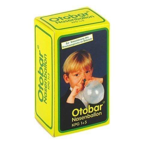 OTOBAR Nasenballon Kombipckg. 1+5 1 Packung