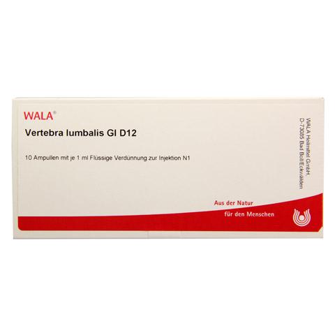 VERTEBRA LUMBALIS GL D 12 Ampullen 10x1 Milliliter N1