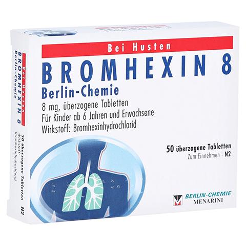 BROMHEXIN 8 Berlin-Chemie 50 Stück N2