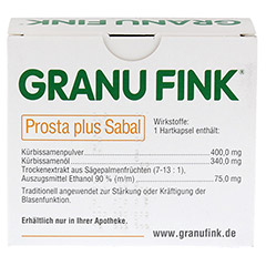 GRANU FINK Prosta plus Sabal 120 Stück - Rückseite