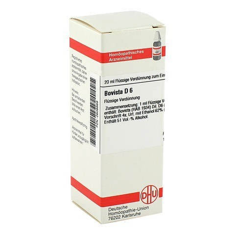 BOVISTA D 6 Dilution 20 Milliliter N1