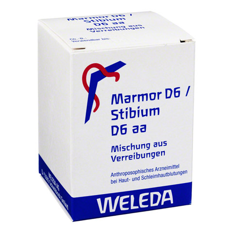 MARMOR D 6 / STIBIUM D 6 aa Trituration 50 Gramm N2