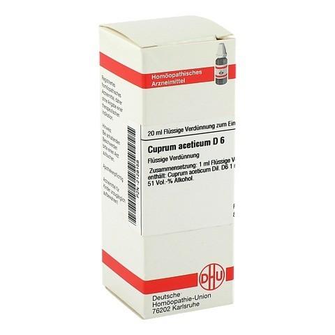 CUPRUM ACETICUM D 6 Dilution 20 Milliliter N1