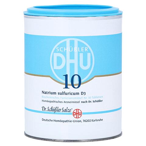BIOCHEMIE DHU 10 Natrium sulfuricum D 3 Tabletten 1000 St�ck