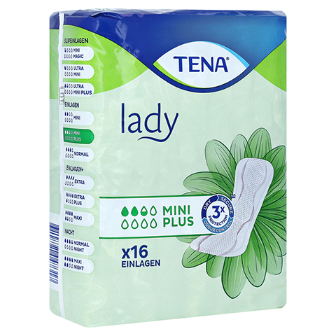 TENA LADY mini plus Einlagen 16 St�ck