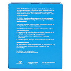 BASICA Vital Pulver + gratis Broschüre Rezepte Weihnachtsgebäck 800 Gramm - Rückseite