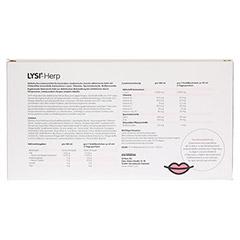 LYSI-HERP Trinkampullen 10 Stück - Rückseite