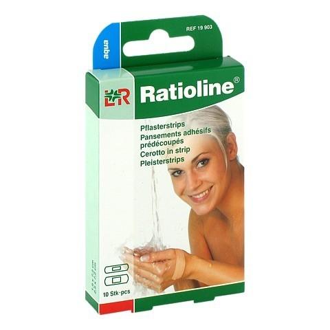 RATIOLINE aqua Pflasterstrips in 2 Gr��en 10 St�ck