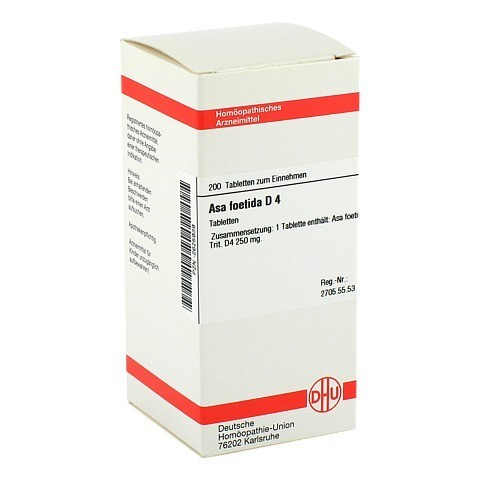 ASA FOETIDA D 4 Tabletten 200 Stück N2