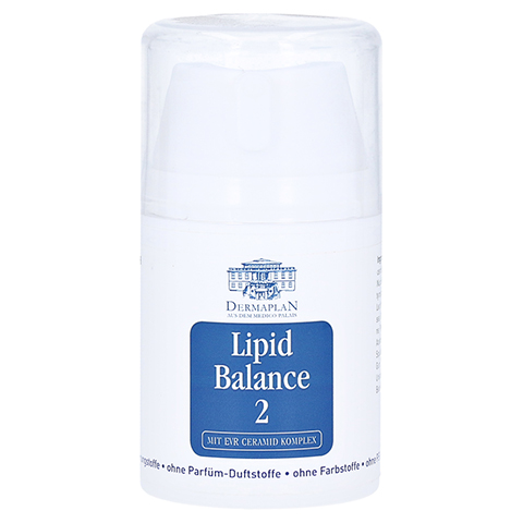 DERMAPLAN Lipid Balance 2 Creme Pumpfl. 50 Milliliter