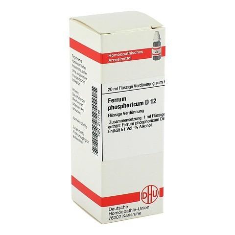 FERRUM PHOSPHORICUM D 12 Dilution 20 Milliliter N1
