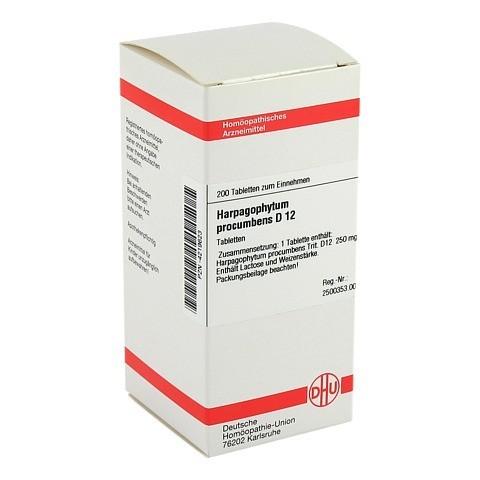 HARPAGOPHYTUM PROCUMBENS D 12 Tabletten 200 Stück N2