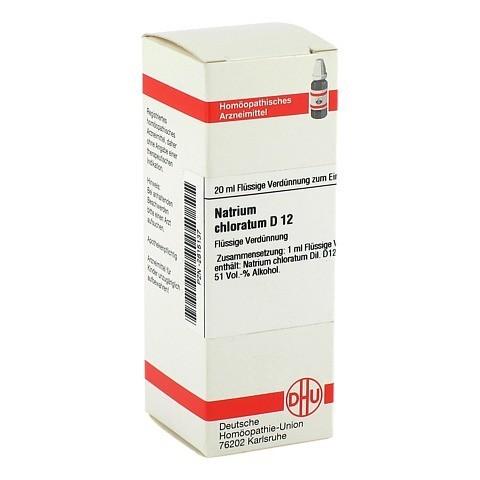 NATRIUM CHLORATUM D 12 Dilution 20 Milliliter N1