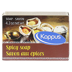 KAPPUS Gew�rzseife 125 Gramm - R�ckseite