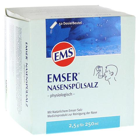 EMSER Nasensp�lsalz physiologisch Btl. 50 St�ck