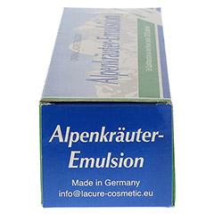 ALPENKRÄUTER Emulsion Lacure 200 Milliliter - Linke Seite