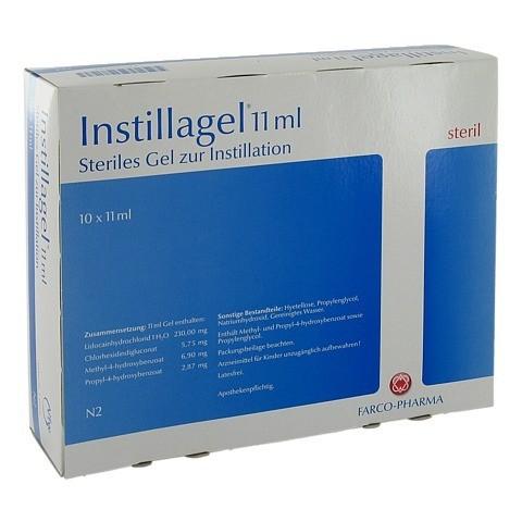 Instillagel 10x11 Milliliter N2