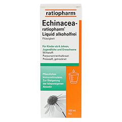 ECHINACEA-ratiopharm Liquid alkoholfrei 100 Milliliter N3 - Vorderseite
