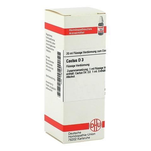 CACTUS D 3 Dilution 20 Milliliter N1