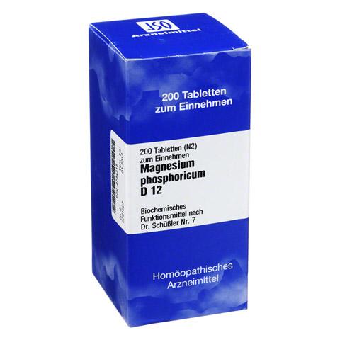 BIOCHEMIE 7 Magnesium phosphoricum D 12 Tabletten 200 Stück N2