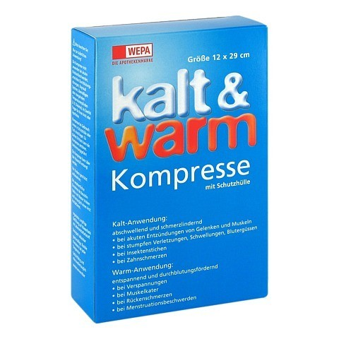 KALT-WARM Kompresse 12x29 cm 1 Stück