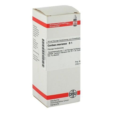 CARDUUS MARIANUS D 1 Dilution 50 Milliliter N1