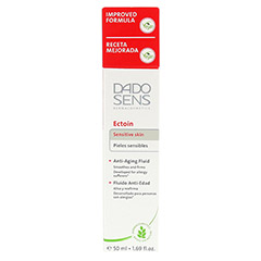 DADO SENS Ectoin Anti-Aging Fluid 50 Milliliter - Rückseite