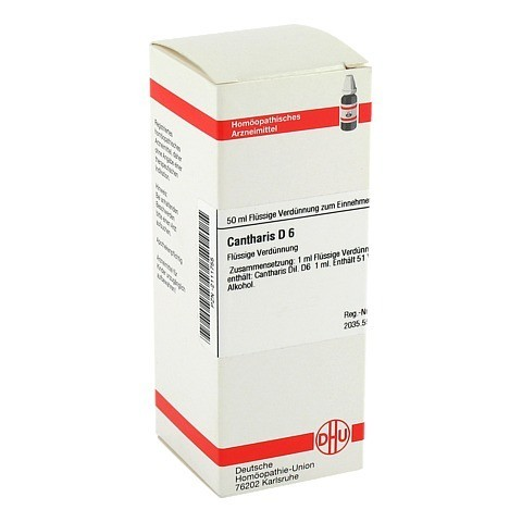 CANTHARIS D 6 Dilution 50 Milliliter N1