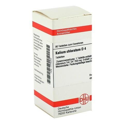 KALIUM CHLORATUM D 4 Tabletten 80 St�ck N1