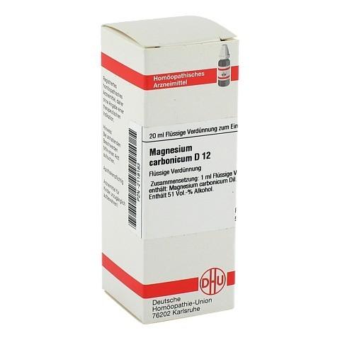 MAGNESIUM CARBONICUM D 12 Dilution 20 Milliliter N1