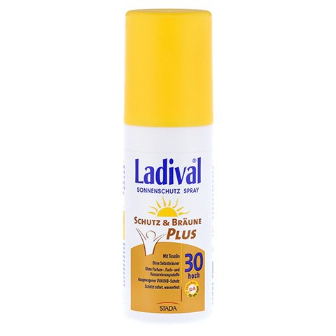 LADIVAL Schutz&Br�une Plus Spray LSF 30 150 Milliliter