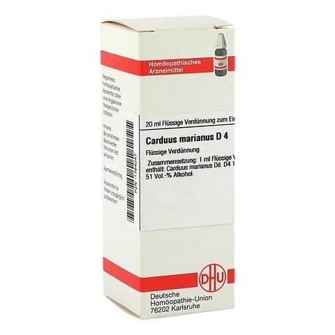 CARDUUS MARIANUS D 4 Dilution 20 Milliliter N1