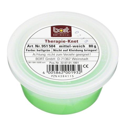BORT Therapie Knet mittel weich hellgrün 80 Gramm