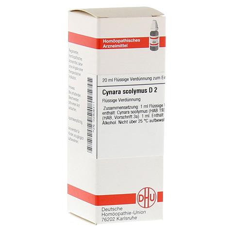 CYNARA SCOLYMUS D 2 Dilution 20 Milliliter N1