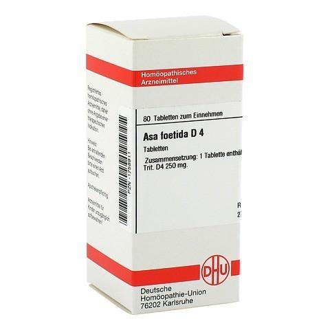 ASA FOETIDA D 4 Tabletten 80 Stück N1