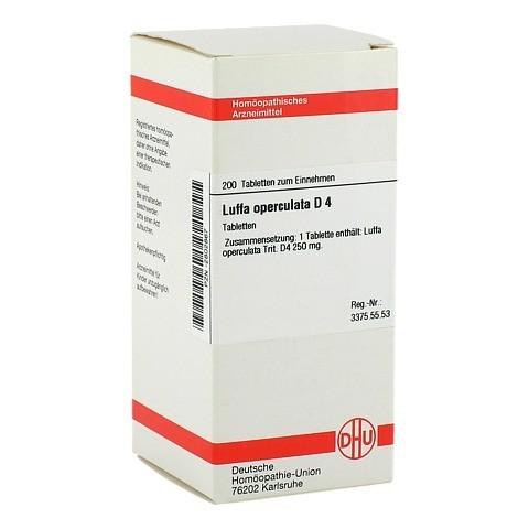 LUFFA OPERCULATA D 4 Tabletten 200 Stück N2