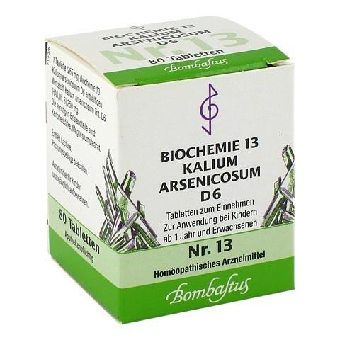 BIOCHEMIE 13 Kalium arsenicosum D 6 Tabletten 80 Stück N1